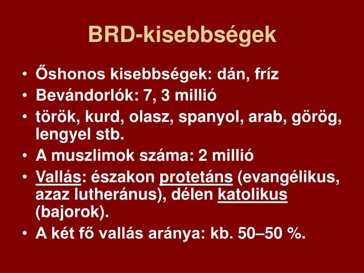 BRD-kisebbségek