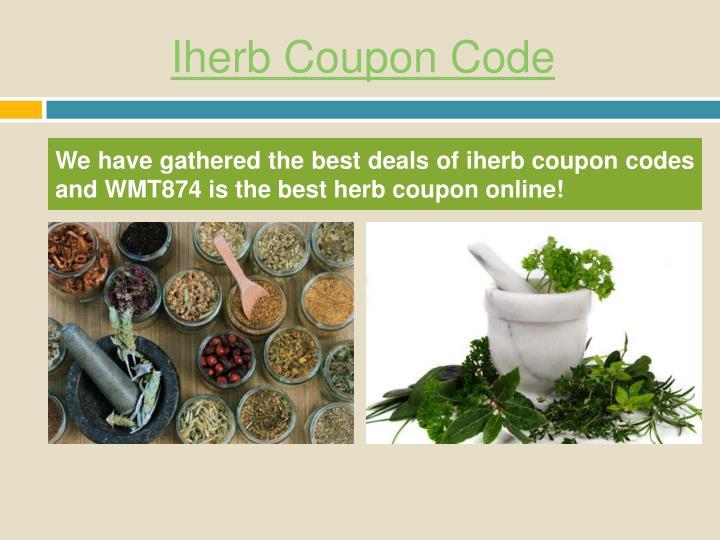Iherb coupon code1