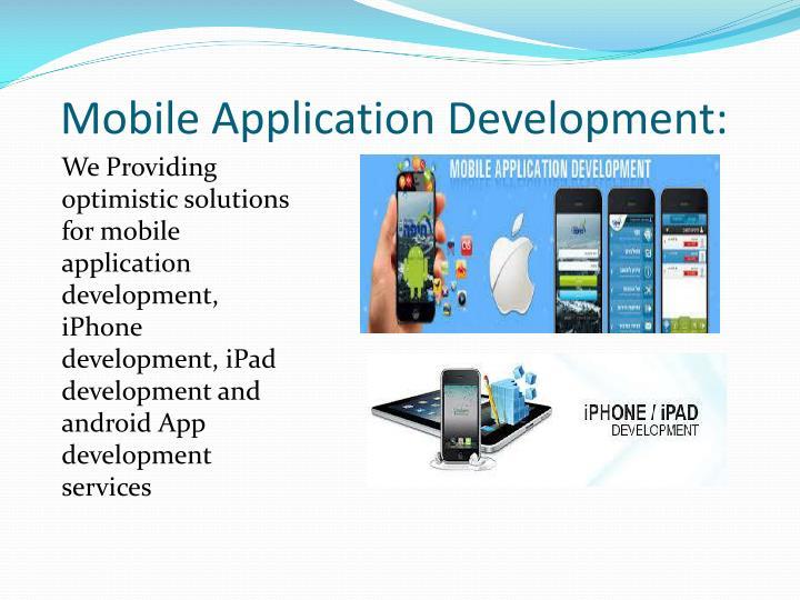 Mobile Application Development: