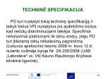 technin specifikacija1