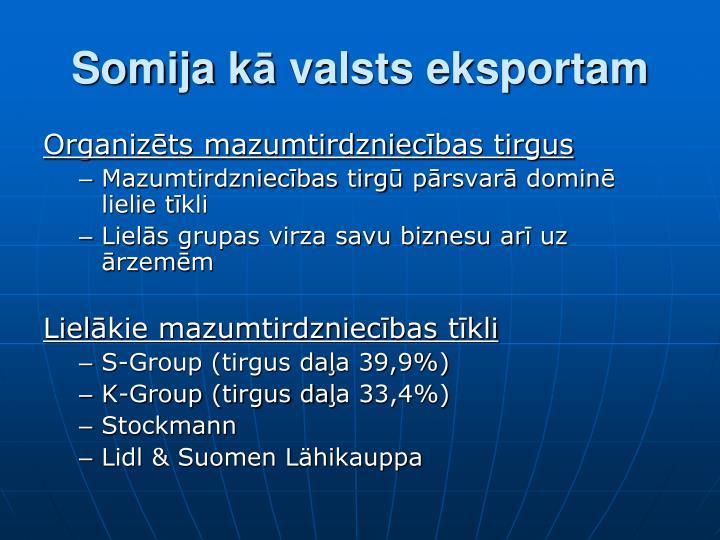 Somija k valsts eksportam1