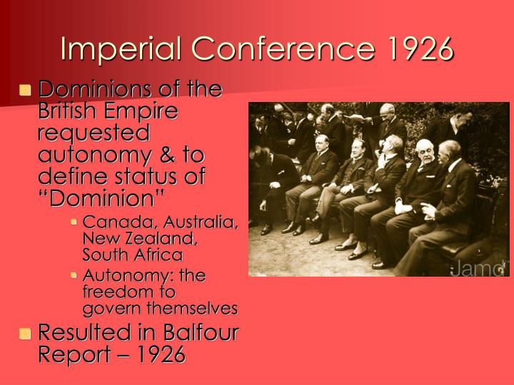 Imperial Conference 1926