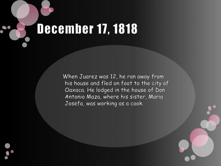 December 17, 1818