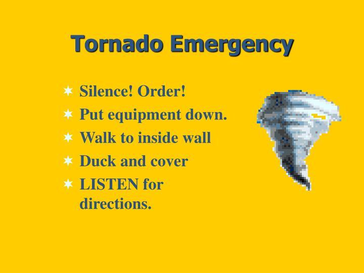 Tornado Emergency