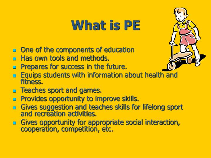 What is PE