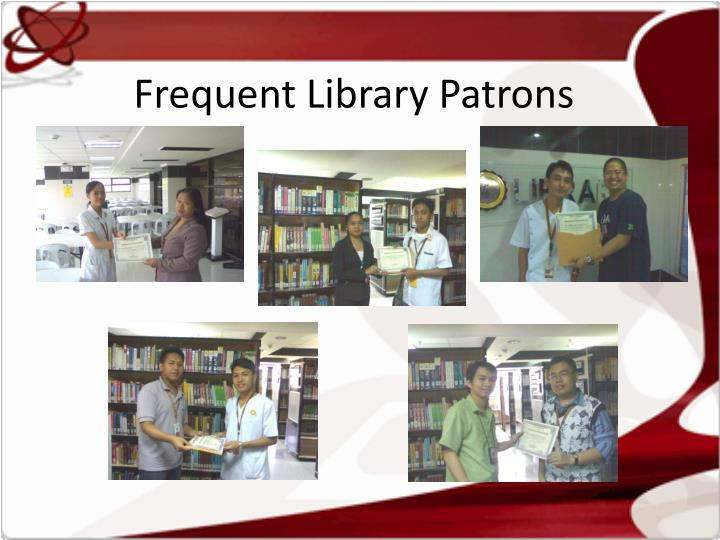Frequent Library Patrons