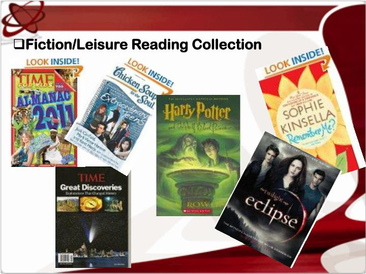 Fiction/Leisure Reading Collection