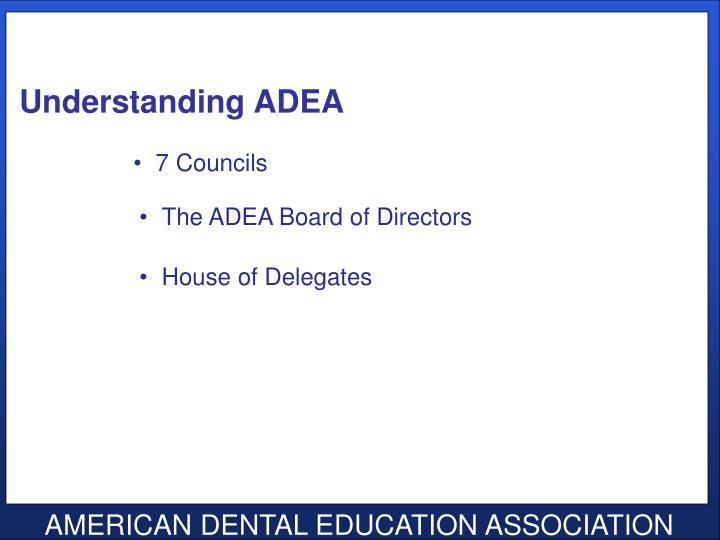 Understanding ADEA