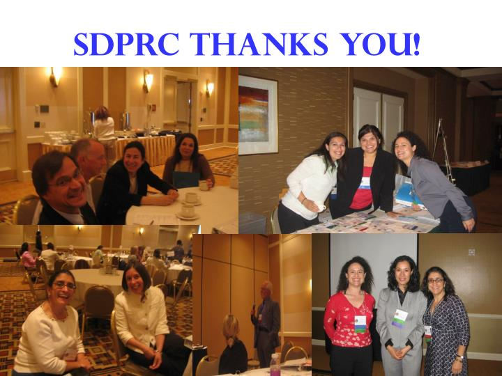 Sdprc thanks you!
