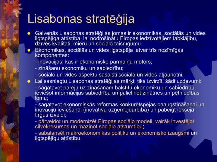 Lisabonas strat ija