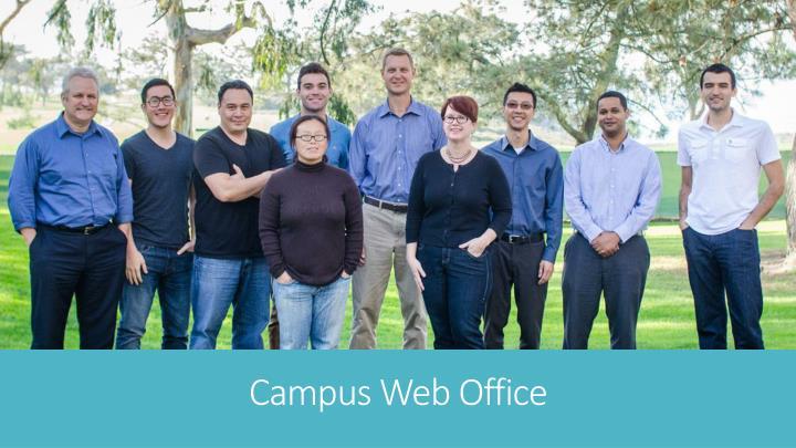 Campus web office