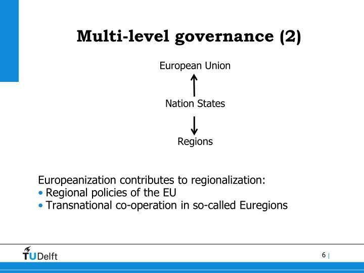 Multi-level governance (2)