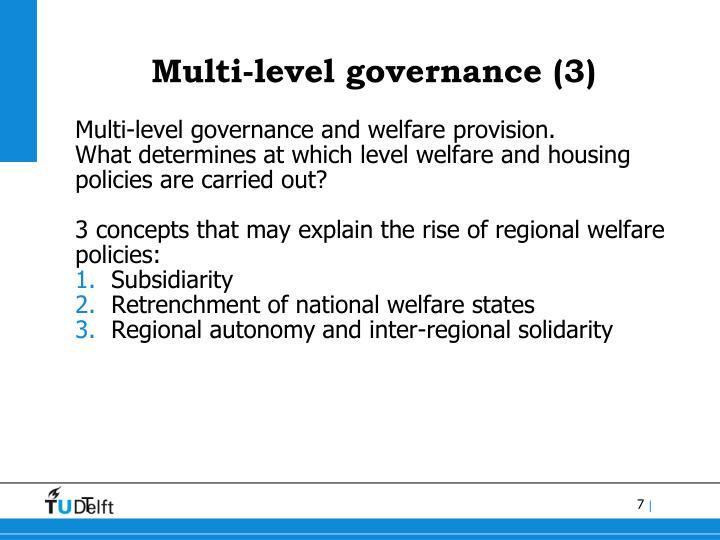Multi-level governance (3)