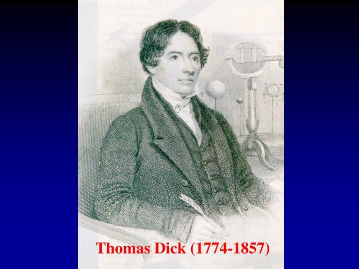 Thomas Dick (1774-1857)