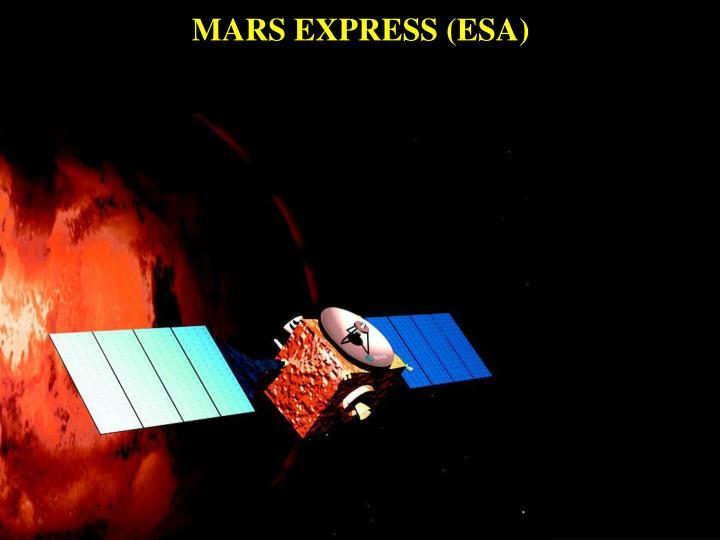 MARS EXPRESS (ESA)