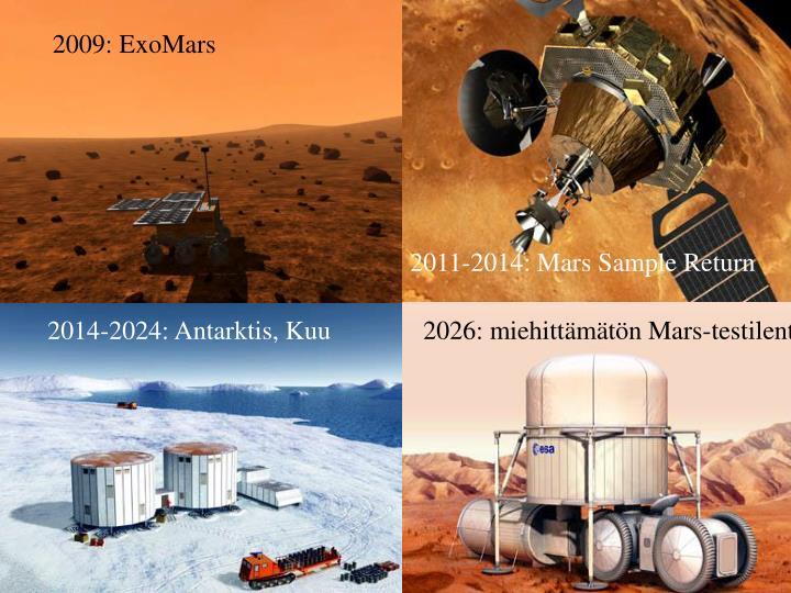 2009: ExoMars