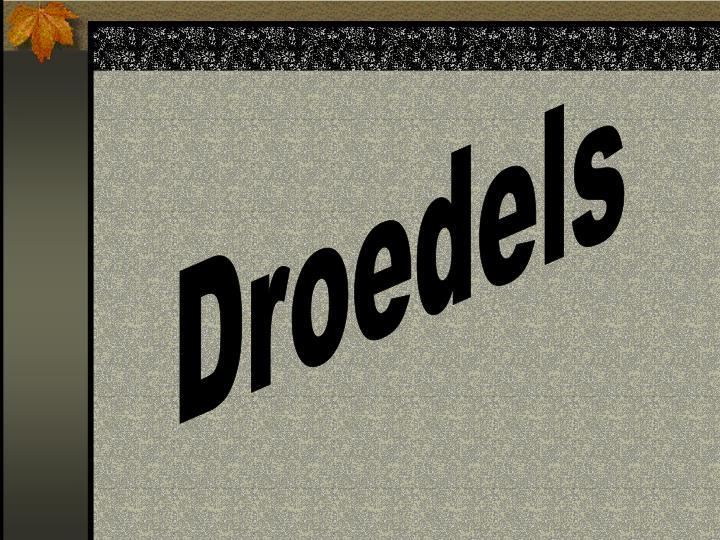 Droedels