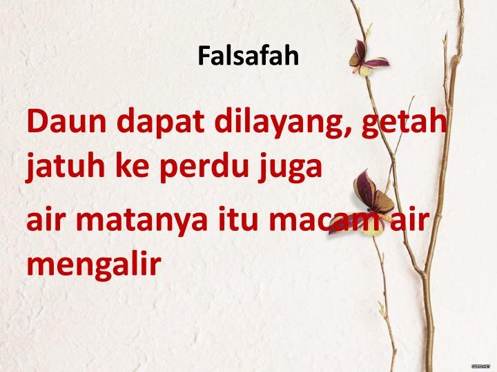 Falsafah
