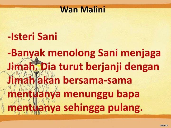 Wan Malini