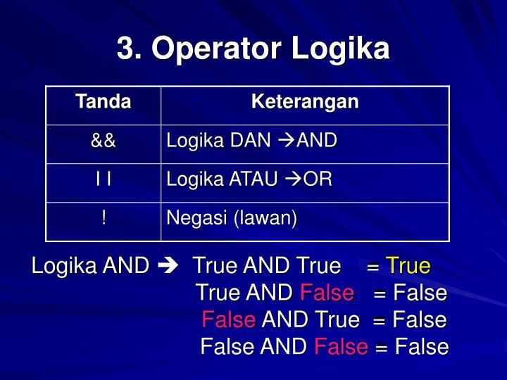 3 operator logika