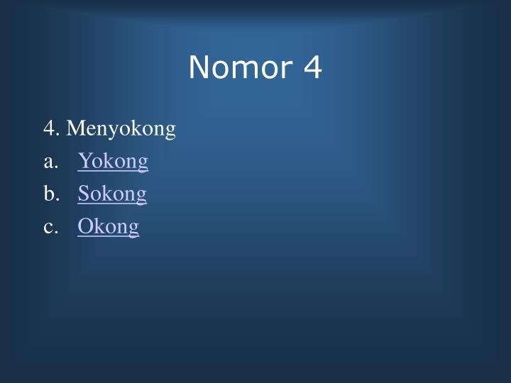 Nomor 4