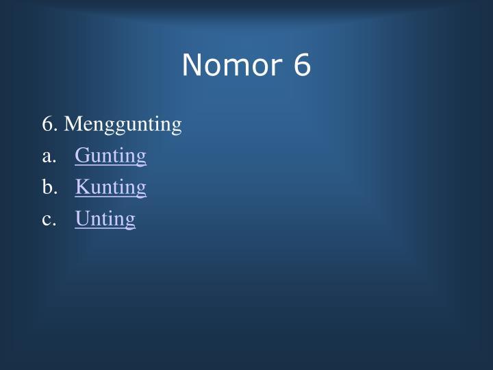 Nomor 6