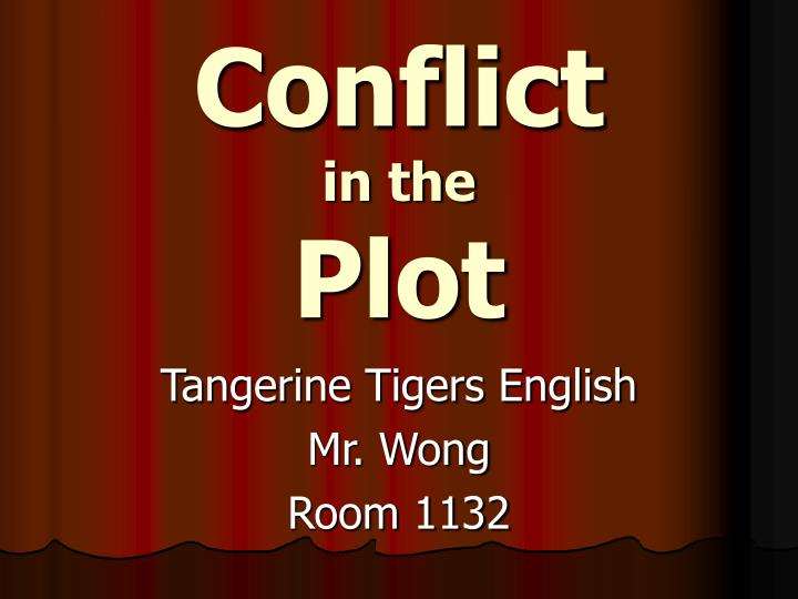 conflict in the plot n.