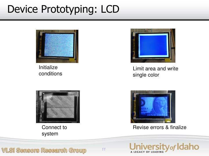 Device Prototyping: LCD