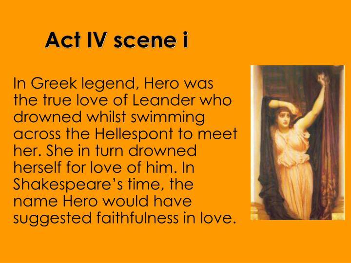 Act IV scene i