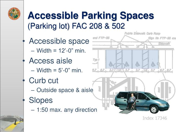 Accessible Parking Spaces
