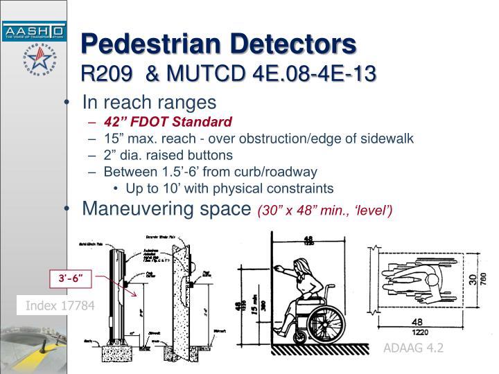 Pedestrian Detectors
