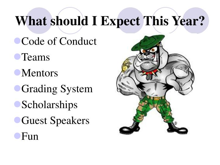 What should I Expect This Year?