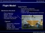 flight model