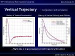vertical trajectory