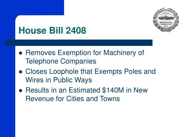 House Bill 2408