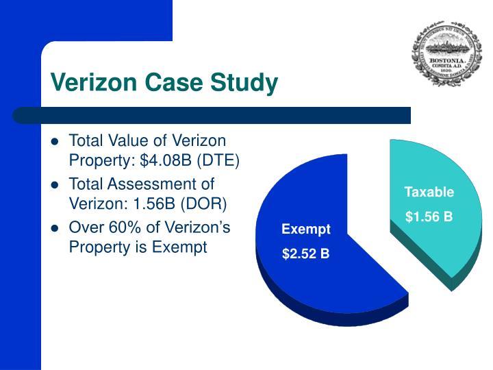 Verizon Case Study