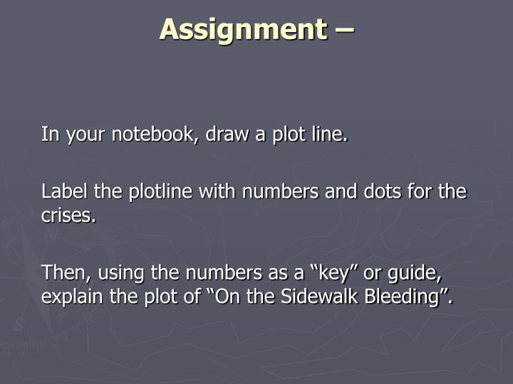 Assignment –