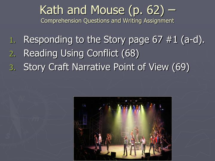 Kath and Mouse (p. 62)