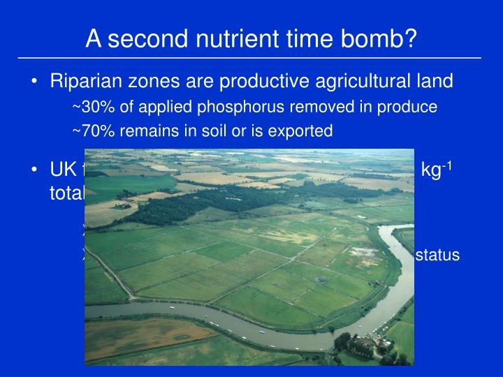 A second nutrient time bomb?