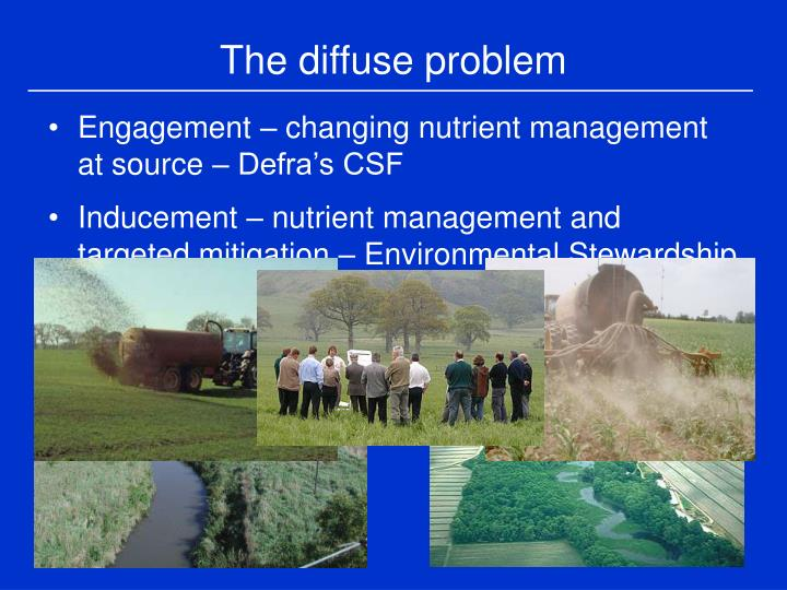 The diffuse problem