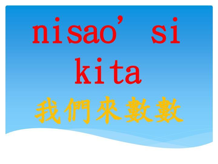 Nisao'si