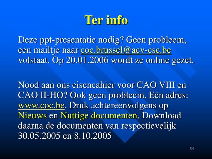Ter info