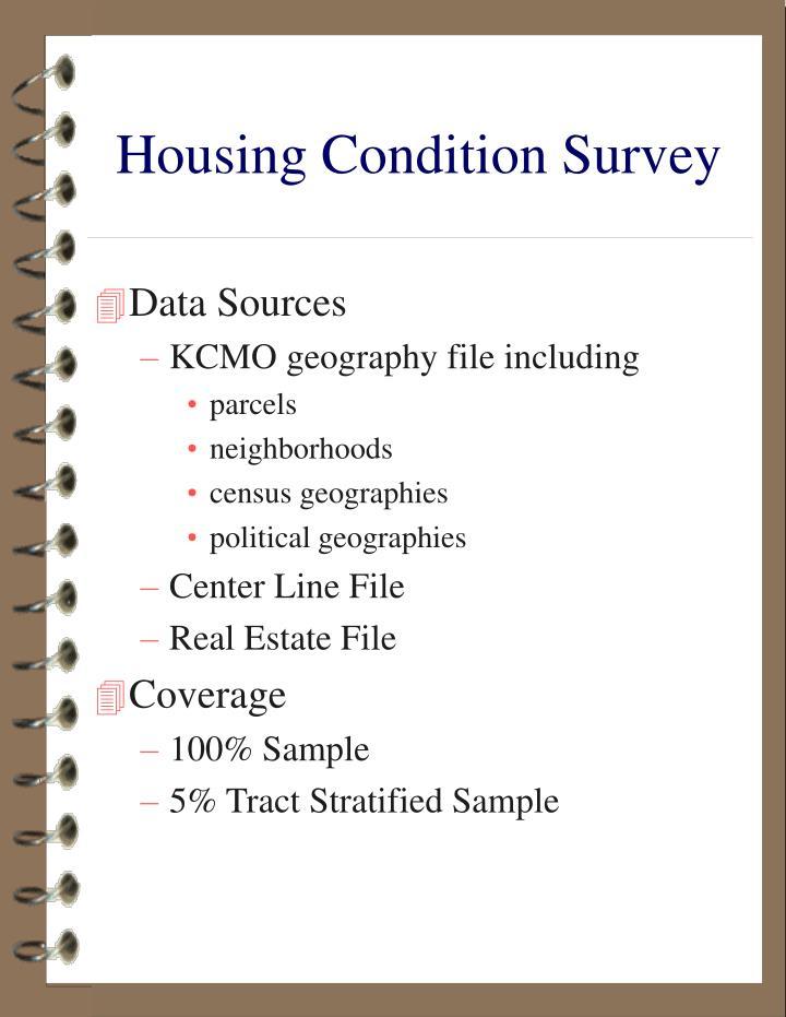 Housing Condition Survey