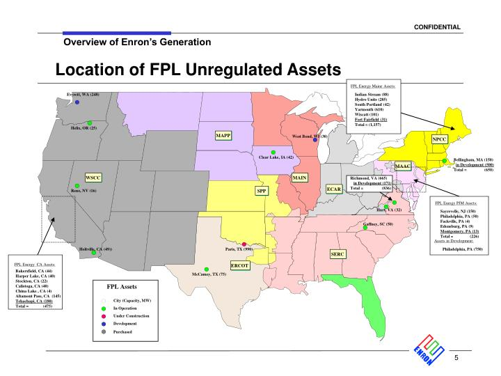 FPL Energy Maine Assets: