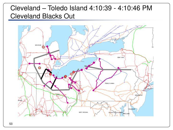 Cleveland – Toledo Island 4:10:39 - 4:10:46 PM