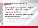 analisis sentaksis