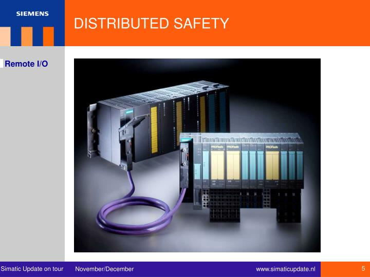 DISTRIBUTED SAFETY