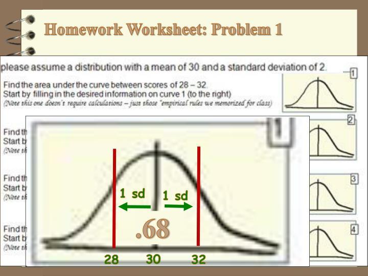 Homework Worksheet: Problem 1