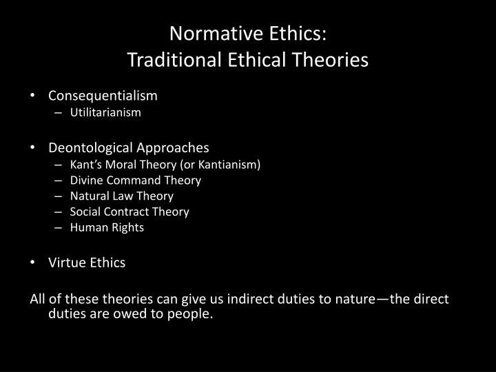 Normative Ethics: