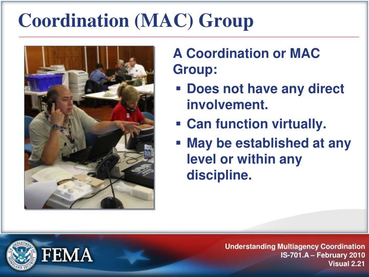 Coordination (MAC) Group